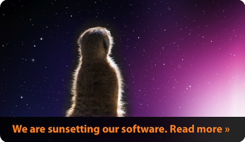 We are sunsetting our software. Read more.