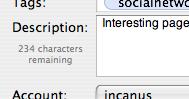 Description length count